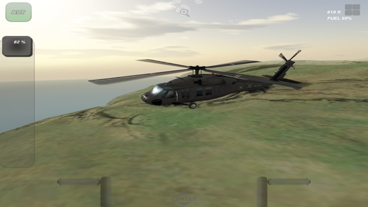 Black Hawk 3D Flight Simulator screenshot-4