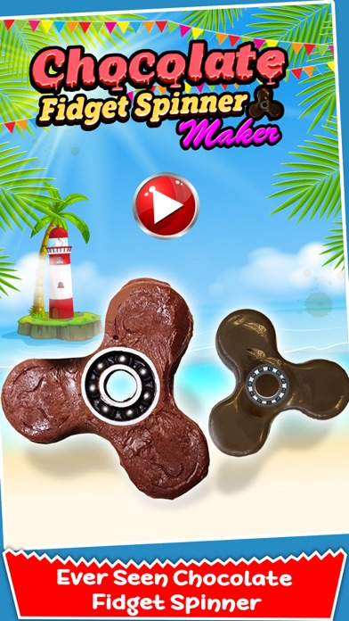Chocolate Fidget Spinner Maker! Toy Finger Spinner screenshot one