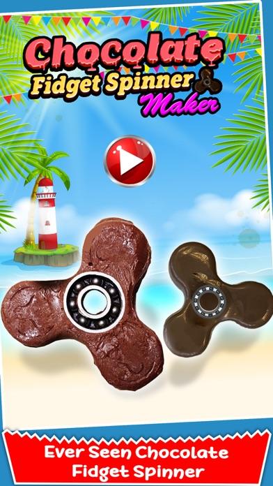 Chocolate Fidget Spinner Maker! Toy Finger Spinner screenshot one
