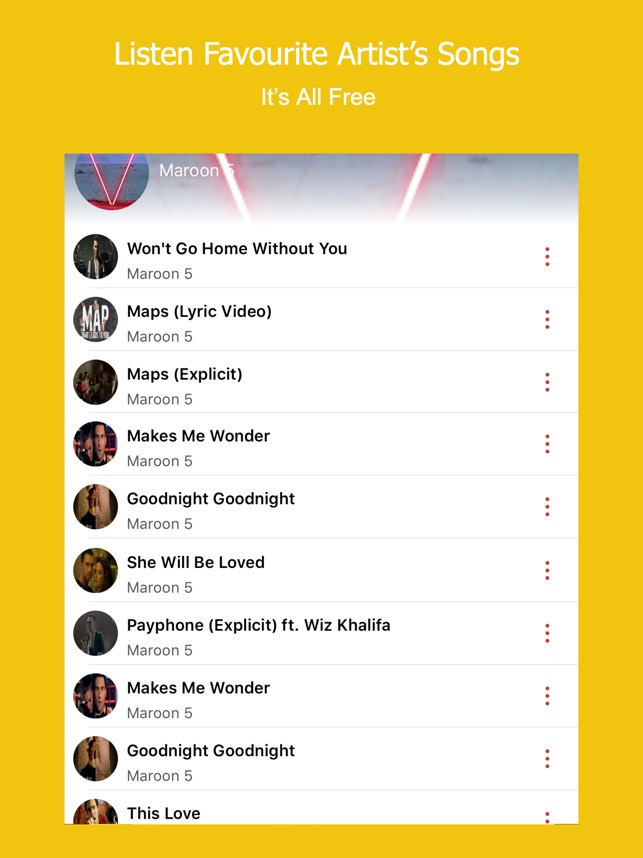 Lyric maroon 5 home without you lyrics : GorillaPlayer - Background Music Player on the App Store