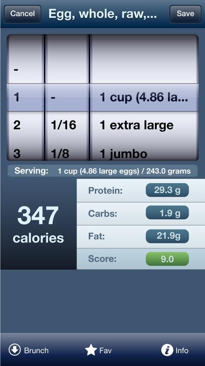 Tap & Track Calorie Counter screenshot-3