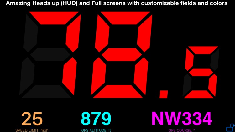 Speedometer 55 Pro. GPS kit. screenshot-9
