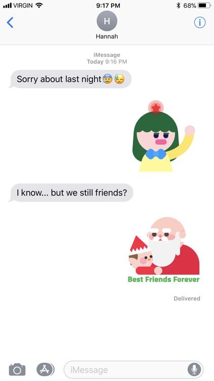 Christmasmoji AR screenshot-4