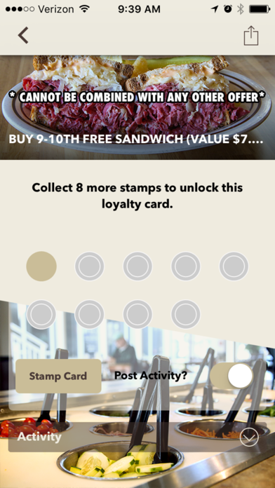Dominic's Deli & Eatery -Screenshot of 2