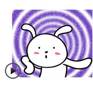 Animated Funny Rabbit Sticker app