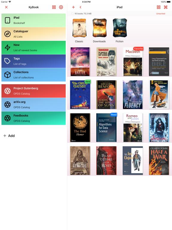 KyBook 3 Ebook Readerのおすすめ画像5