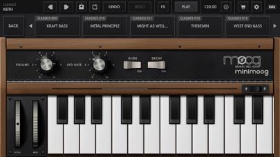 Minimoog Model D Synthesizer screenshot 7