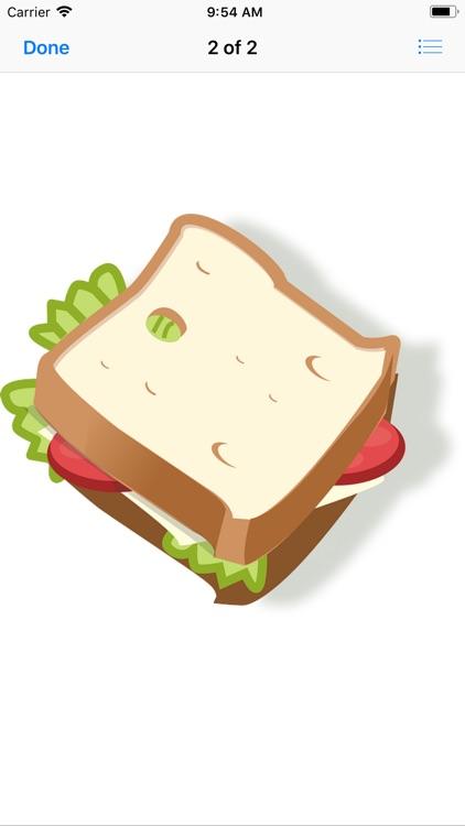 Scrumptious Sandwich Stickers