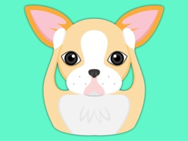 Animated Blonde Boston Terrier