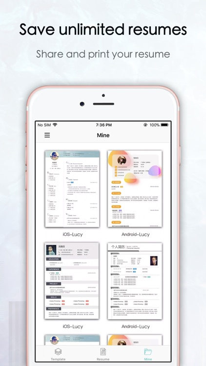 Top Resume -CV maker & Builder screenshot-4