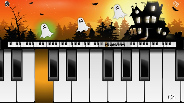 Halloween Piano! screenshot-2