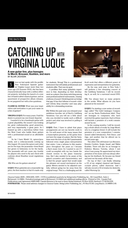 Classical Guitar Magazine screenshot-4