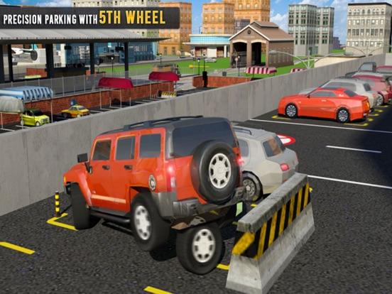 5th Wheel Car Parking Spot 3D-ipad-1