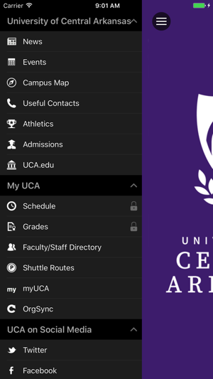 University Of Central Arkansas Campus Map.University Of Central Arkansas On The App Store