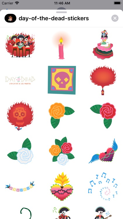 Day of the Dead Stickers Pro screenshot-7