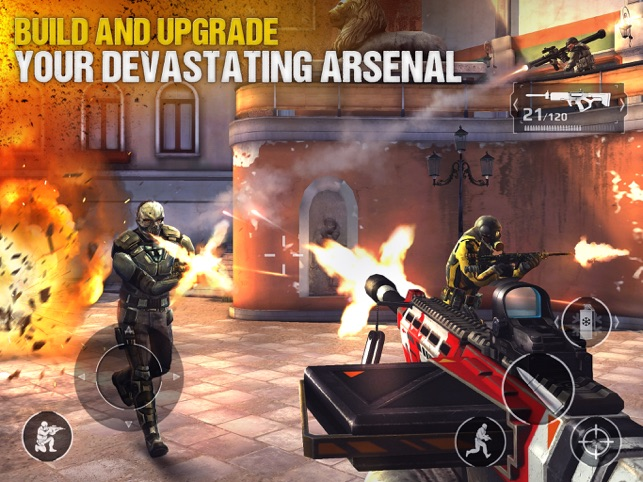 Modern Combat 5 Screenshot