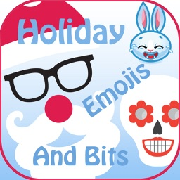 Holiday Emoji Stickers & Bits
