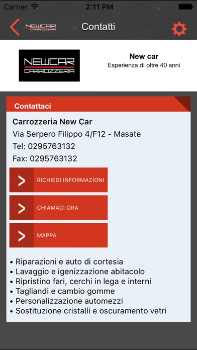 Image of Carrozzeria Newcar for iPhone