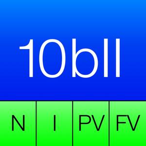 10BII Calc HD app