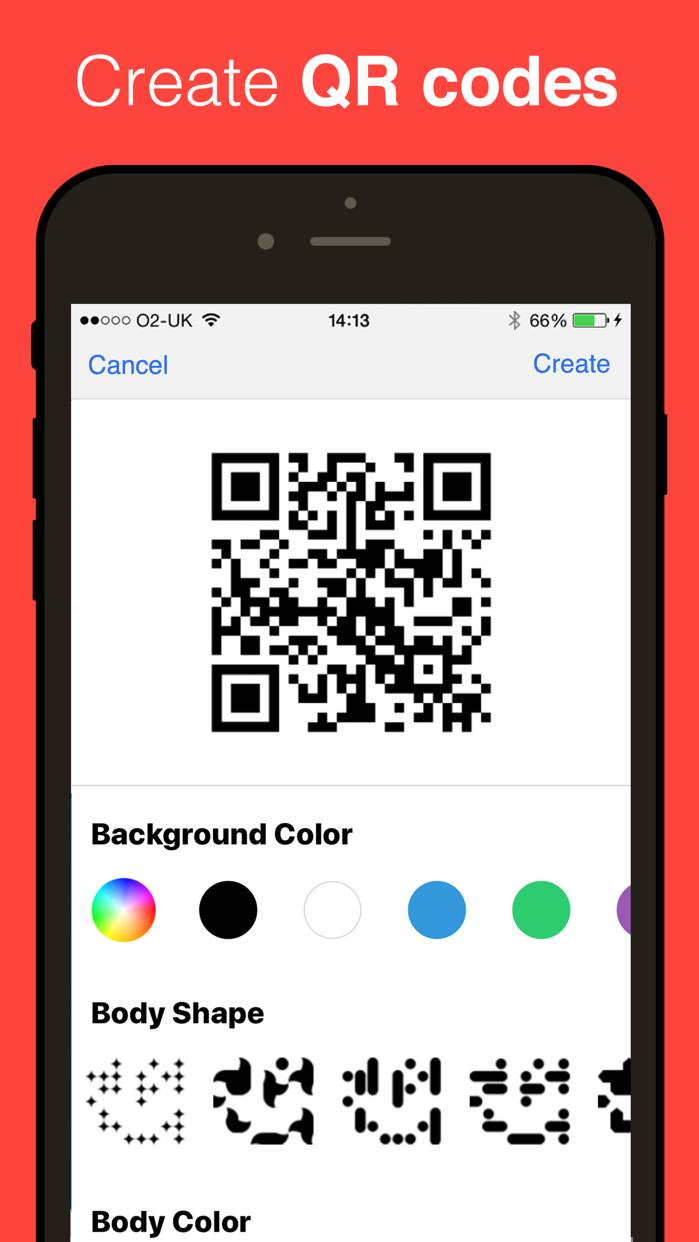 QR Reader for iPhone Screenshot