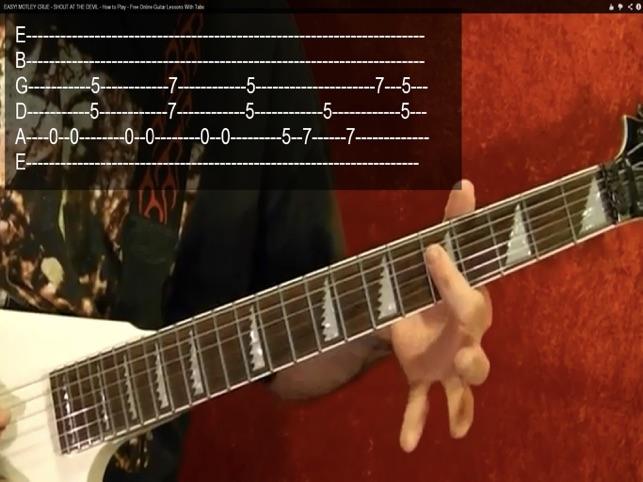 Electric Guitar Songs