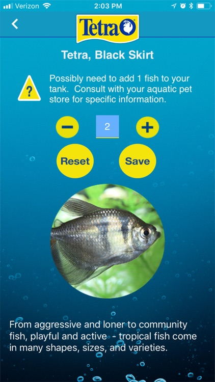 Tetra My Aquarium screenshot-3