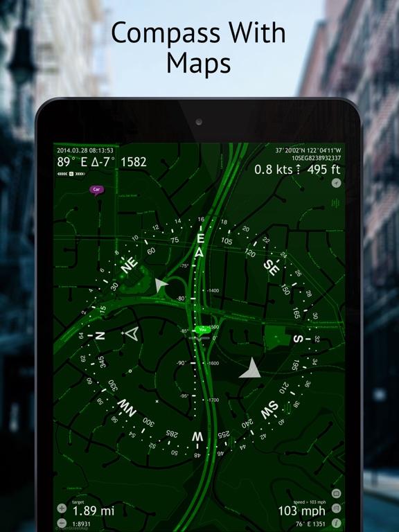 Commander Compass Lite screenshot