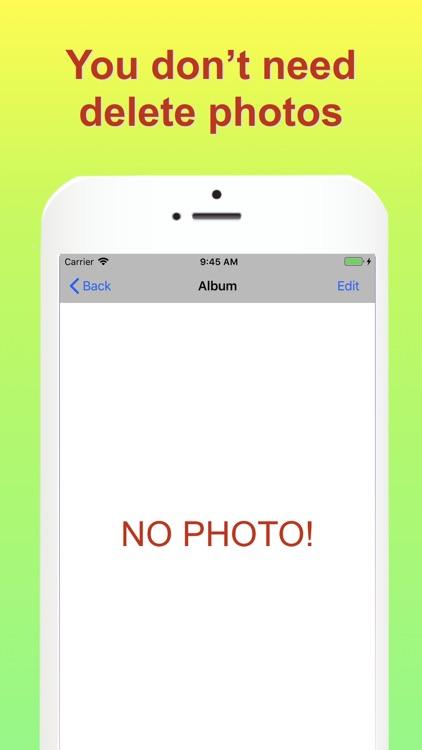 No save photo camera app