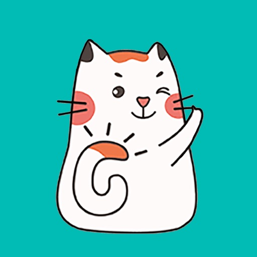 Calico Cat Animated Stickers