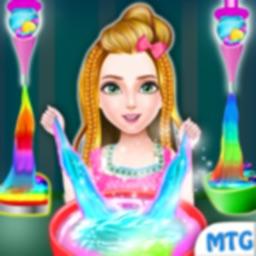 DIY Glitter Slime Maker Jelly