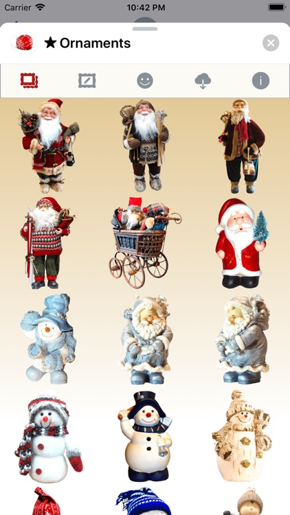 Christmas Ornaments • Stickers screenshot-1
