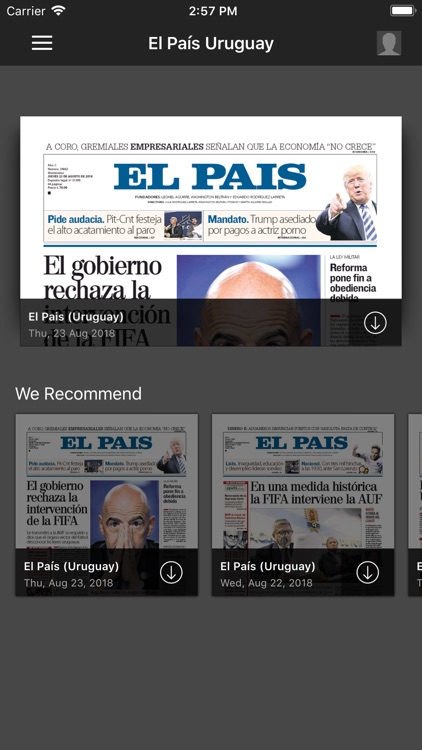 El País Epaper screenshot-0