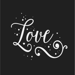 Black & White Love Quotes - Valentines Pack