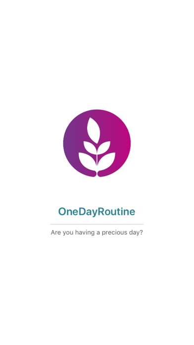 OenDayRoutine - Plan your day screenshot one