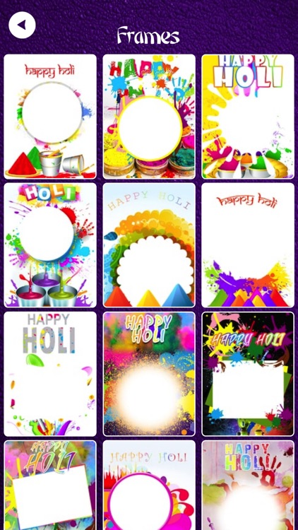 Holi Photo Frames 2k18 screenshot-3