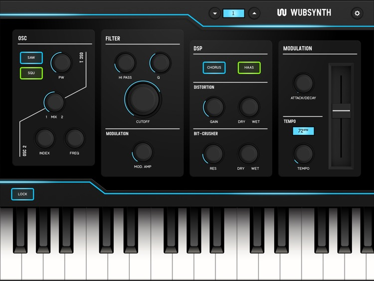 WubSynth screenshot-2