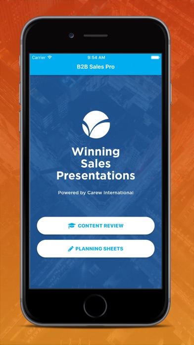 Winning Sales Presentations Screenshots