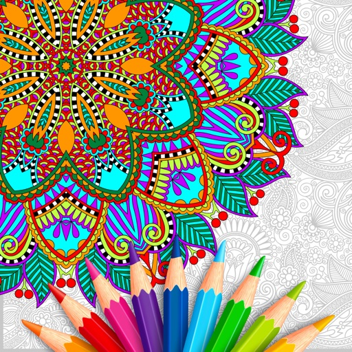 Color Art: Relax Coloring Book iOS App