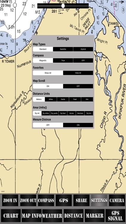 Washington USA Nautical Charts screenshot-3