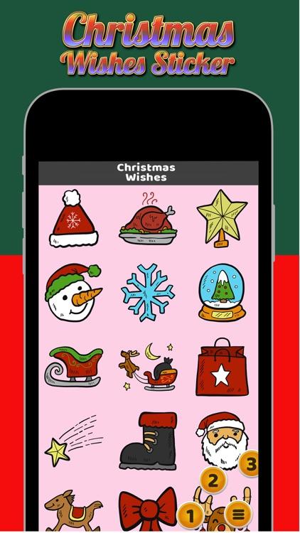 Christmas Wishes Sticker screenshot-3