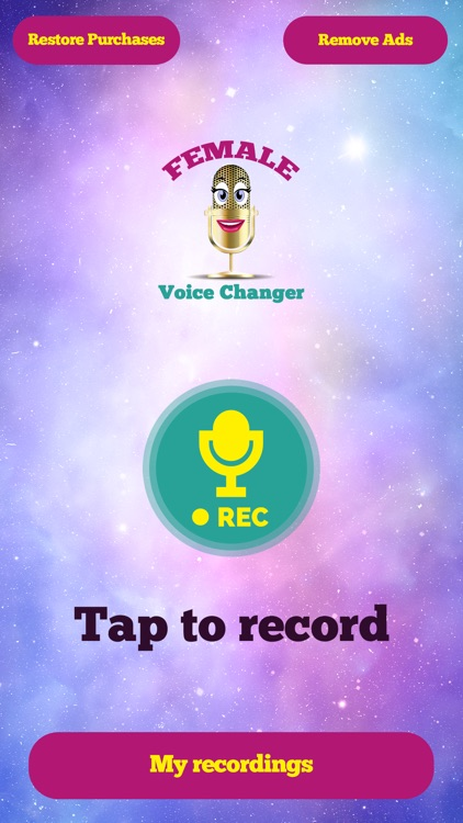 Female Voice Changer Recorder by Nevena Spasic