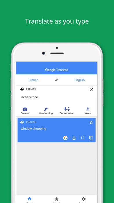 Screenshot for Google Translate in Australia App Store
