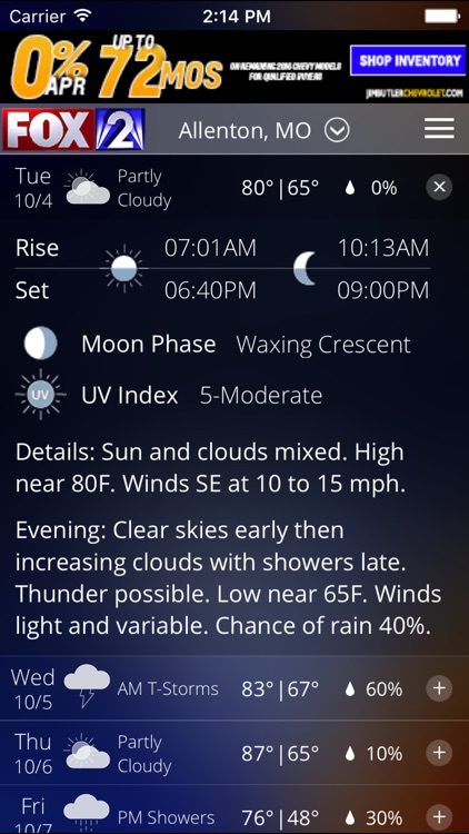 Fox 2 St Louis Weather screenshot-3