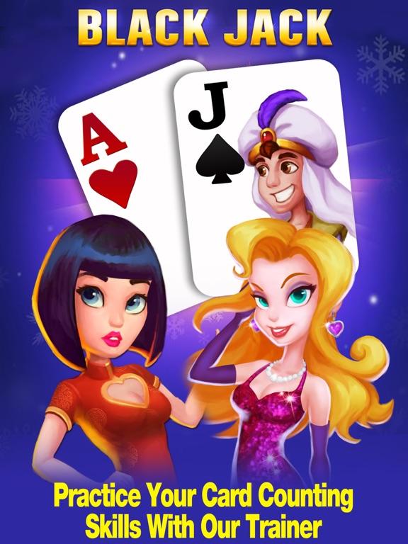 Blackjack 21 - Best Vegas Casino Card Gameのおすすめ画像1