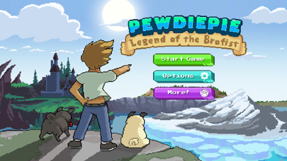 Screenshot from PewDiePie: Legend of Brofist