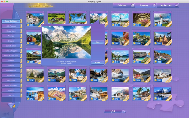 Everyday Jigsaw Screenshot