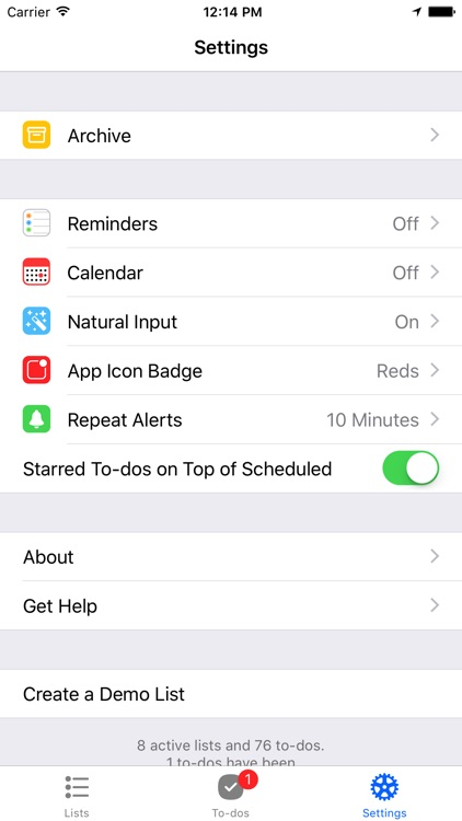 Pocket Lists 1 screenshot-4