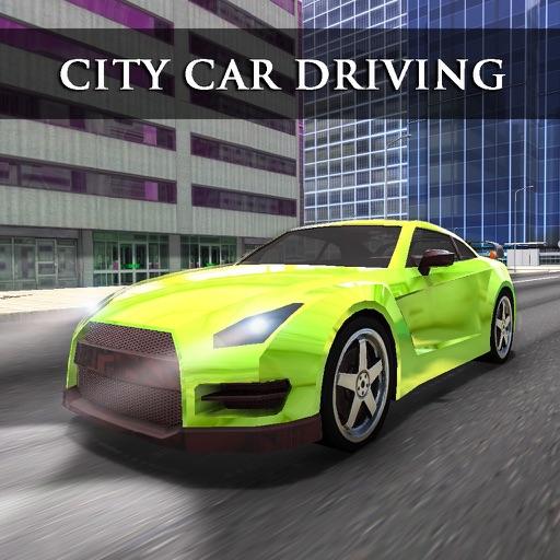 City Car Driving Simulator 3d