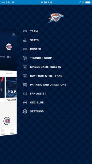6ab153a23ea  Oklahoma City Thunder on the App Store