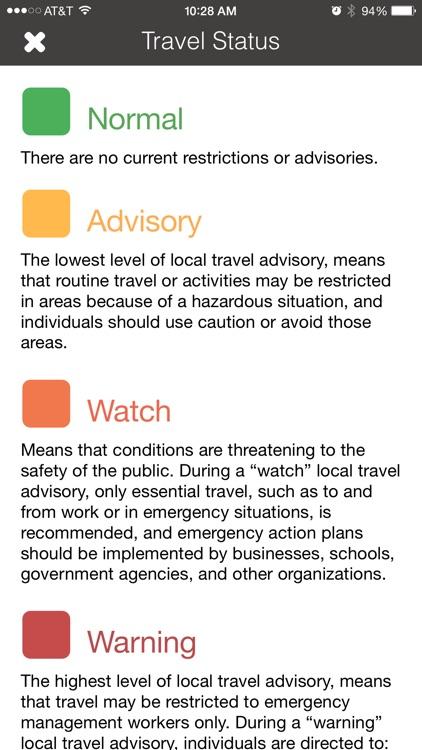 Travel Advisory screenshot-3